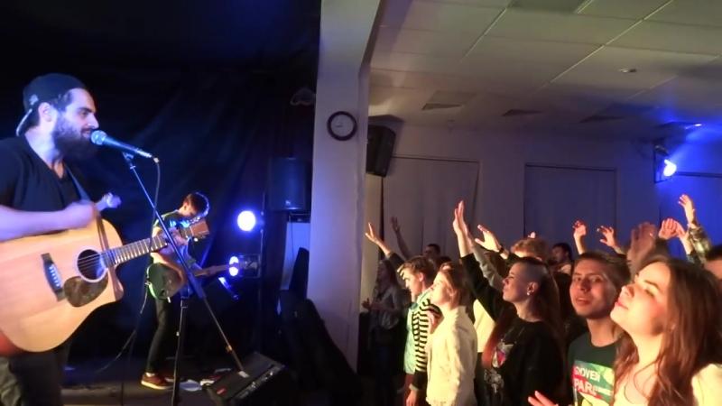 Группа из Слово Жизни (Москва) на EXIT2016 в Минске