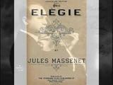 Enrico Caruso 'Elegie' Massenet