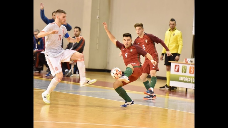 SN Futsal sub-19: Portugal 2-1 Espanha