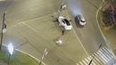В центре Оренбурга иномарка въехала в столб. Оренбург ДТП. Дорожные Новости.