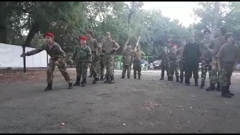 Тренировка партизан