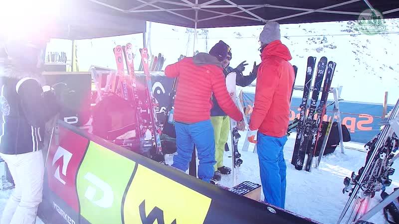 Тест горных лыж Völkl RTM 86