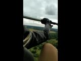 Полет! Я и мое колено, всегда со мной!))