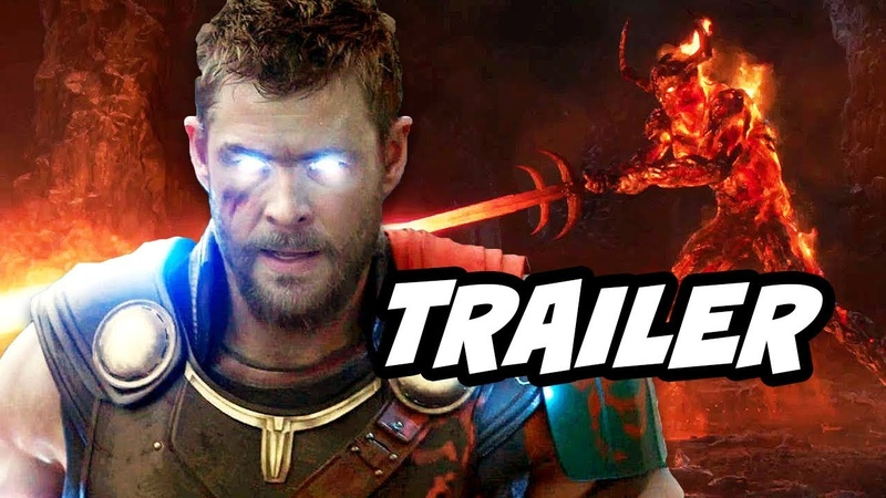 Thor Ragnarok Official Promo and Infinity War Easter Eggs