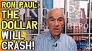 Ron Paul The Dollar Will CRASH The Banking System Is BANKRUPT FULL INTERVIEW