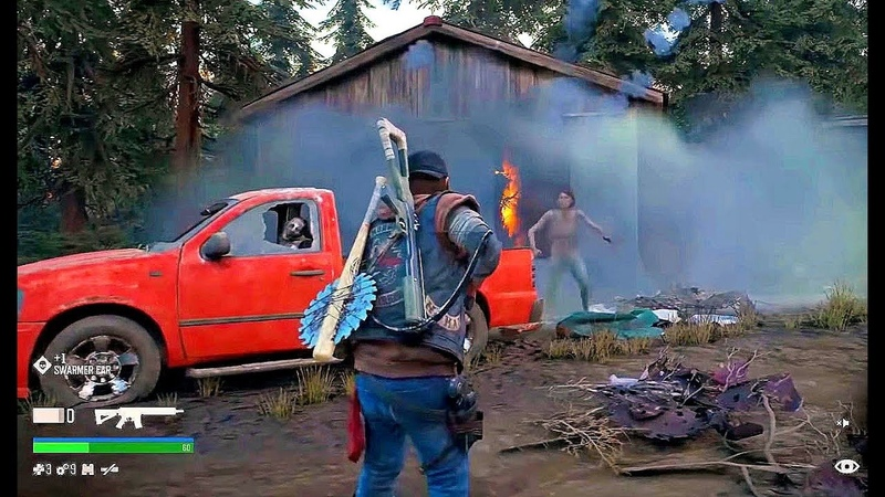 DAYS GONE Nuevo Gameplay Demo 2018 PS4 (Mundo Abierto y Supervivencia)