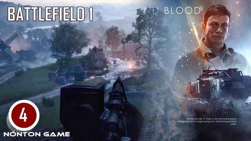 Nonton Game Perang Seru BATTLEFIELD 1-THROUGH MUD AND BLOOD 3. Gameplay PC. Battlefield 1 PART 4