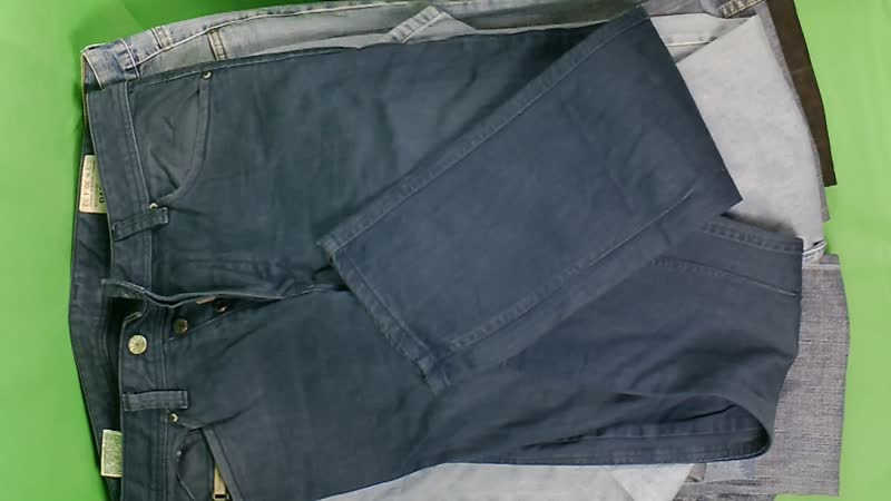 Джинсы мужские брэнды №3 (27 шт, 840 руб\кг)