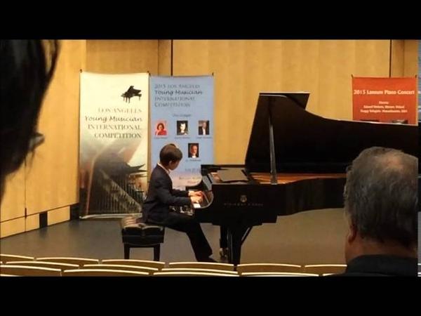 Энджел С. Вонг - И.С.Бах-Трехголосная инвенция Ми бемоль мажор, BWV 791