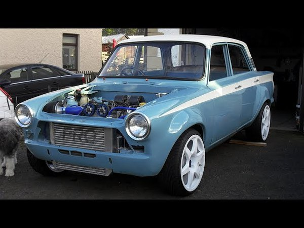 1965 Ford Cortina MK1 Cosworth YB Race Car Build Project