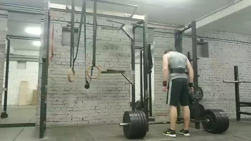 Становая тяга 130 кг на раз