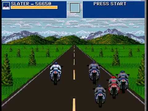Road Rash Revolution (OpenBoR) - real-time playthrough (hard)
