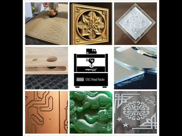 What work does the CNC router can do?