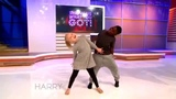 Harry Connick Jr on Instagram Kid dancers Artyon and Paige show off their killer moves on #HarryTV! #showuswhatyougot