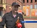 Принятие присяги сотрудниками вневедомственной охраны_Иркутск
