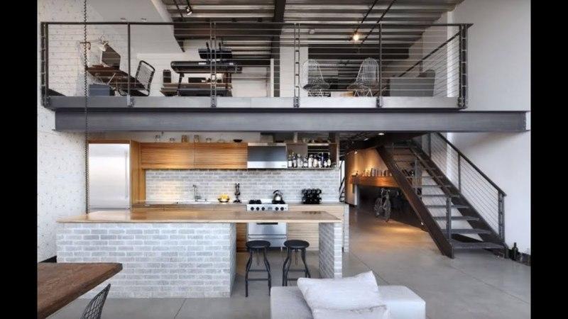 Minimalist Industrial Loft Apartment Seattle 🍍