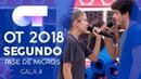 QUÉDATE EN MADRID MIKI y MARÍA Segundo pase de micros Gala 4 OT 2018