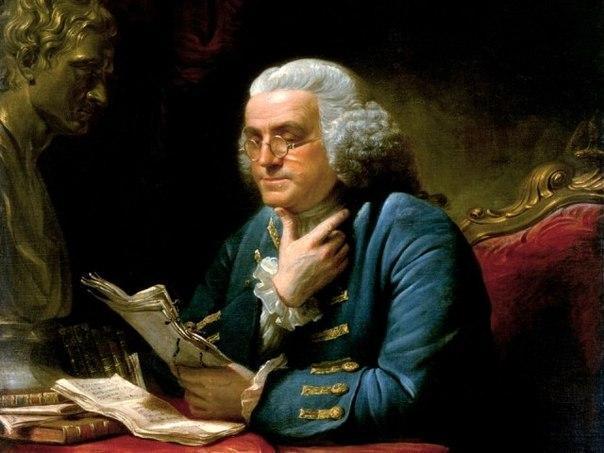 У Бенджамина Франклина был план достижения морального совершенства за 13 недель. Каждую неделю он совершенствовался в одной из добродетелей. В нынешнее время этот план наиболее актуален, поэтому попробовать стоит каждому.