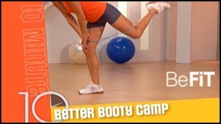 Better Booty Camp Butt Workout 10 Min Solutions- Jessica Smith