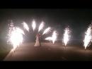 Светлана и Александр, Пиро арка и пиродорожка, 13 фонтанов