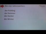 Deutsch lernen A1 - die vier Jahreszeiten