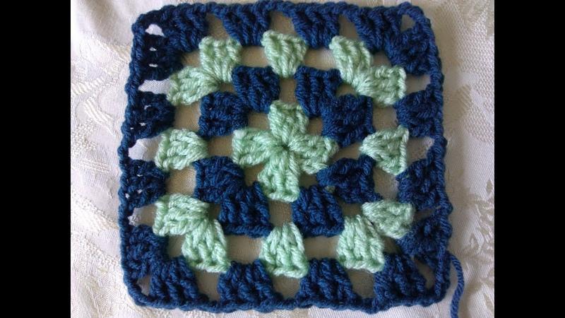 How to crochet classic granny square