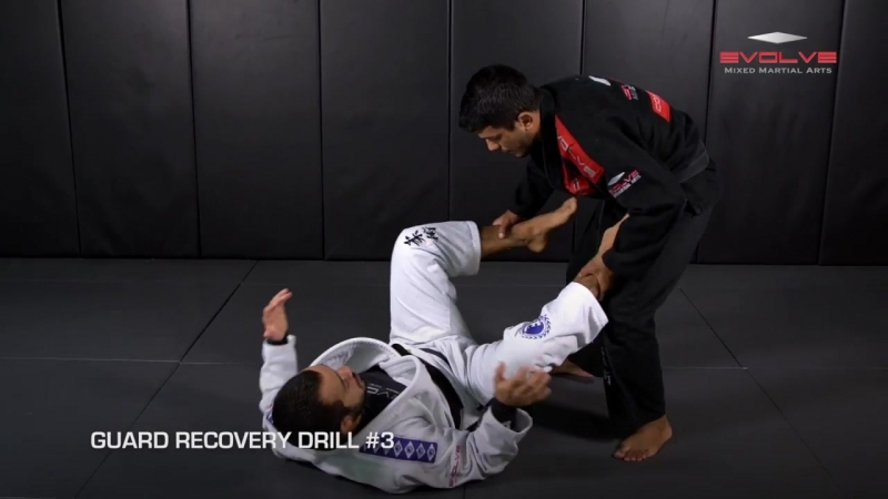 7 Basic Guard Recovery Drills - Almiro Barros