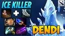 Dendi ICE KILLER Ancient Apparition Dota 2