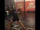Irene Aldana boxing