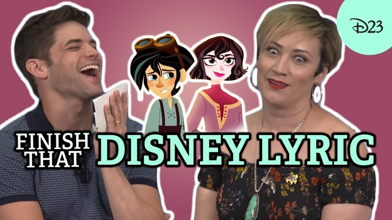 Finish that Disney Lyric with Jeremy Jordan and Eden Espinosa