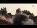 Боевики ХТШ пытаются отбить атаку САА.