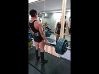 Становая тяга 200 кг на 3
