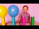 Учим цвета с шариками для малышей Поем вместе волшебную песню