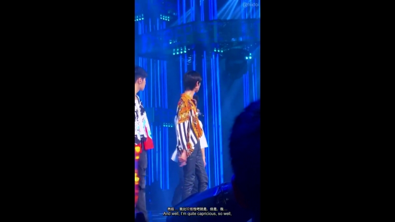 The Collaboration Recording - Jun speech on why hes not competing in the final Part 2