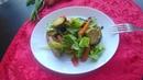 🥗Салат из запеченных овощей 🍴🍷 Это очень вкусно 😍😋