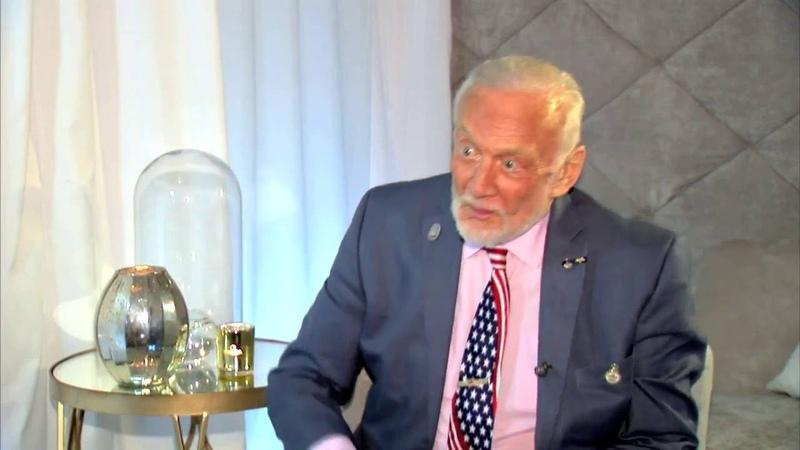 Entrevista Buzz Aldrin, o segundo homem a pisar na Lua
