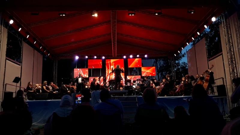 Jazz Парк (2018) - Омский Академический Симфонический Оркестр и Валерий Перминов - «My way»