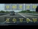 Prius Plug In Тест драйв на трассе часть 2 продолжение