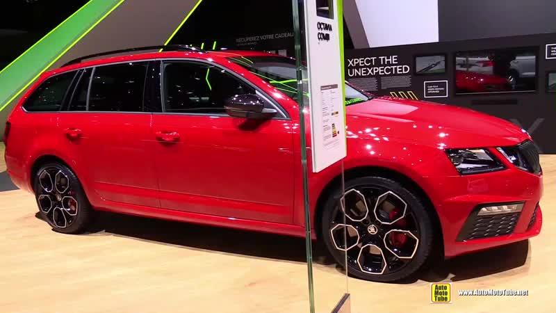2018 Skoda Octavia Combi RS - Exterior and Interior Walkaround - 2018 Geneva Motor Show