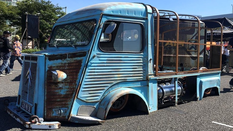 DEEPEST Citroën HY Van Extrem Customized Restomod Build Overhaulin Full Restoration Barn Find