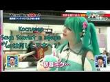 Российский косплеер Saya Scarlet в эфире японского шоу