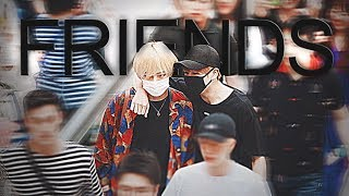 Vkook — can we be friends? ✦