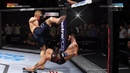 UFC 227 TJ DILLASHAW vs. CODY GARBRANDT EA SPORTS UFC 3 CPU vs. CPU GAME PS4