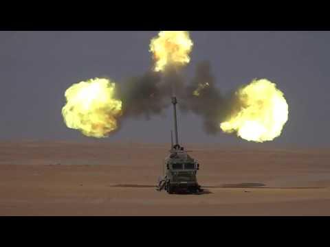 Nora B52 155 mm Self Propelled Gun Howitzer