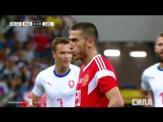 Сборная России - сборная Чехии. Второй гол Алексея Ионова