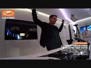 Kevin Vergauwen & Chatry van Hove - Elves of the Twelves (Tycoos Remix) #ASOT899