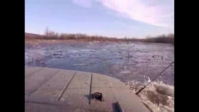 Касимов 2011 годд весна Плавание на УАЗе