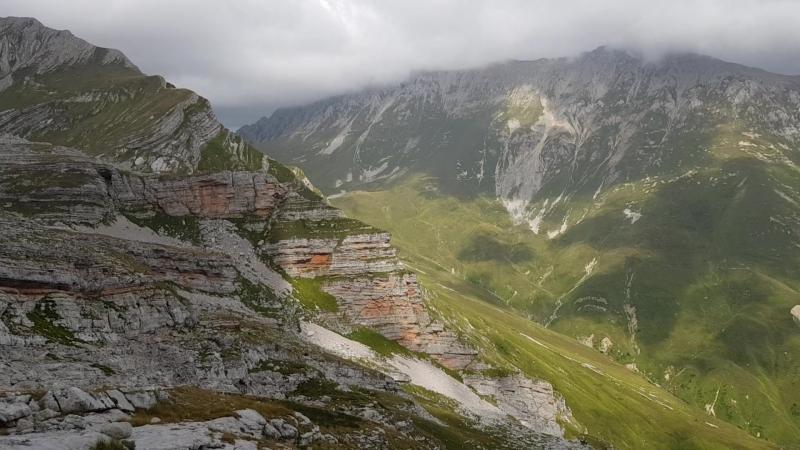 Панорама окрестностей горы Фишт