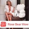 Мишка из роз от RoseBearWow