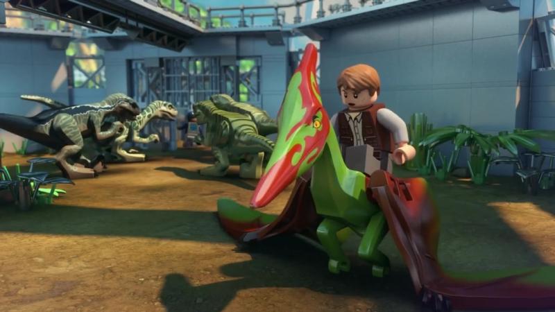 Part 1- LEGO®Jurassic World- The Indominus Escape